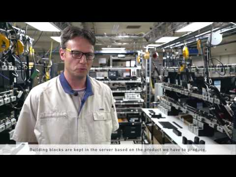 How Omron Industrial PC production line is adapting I4 0 methodologies