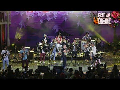 La cumbia casera de Santaferia arrasó en Olmué   Festival del huaso de Olmué 2018