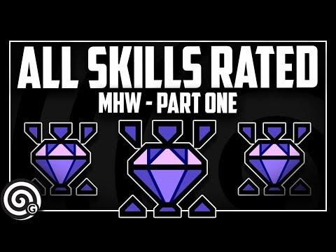 All Skills Reviewed (Part 1) | Monster Hunter World thumbnail