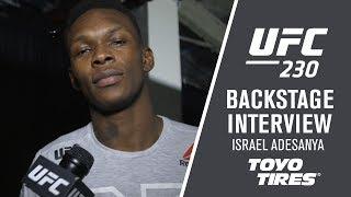 UFC 230: Israel Adesanya -