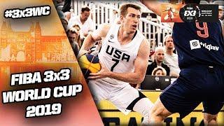 Serbia v United States | Men's Full Game | FIBA 3x3 World Cup 2019