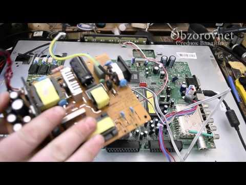 видео: Телевизор lcd tОshiba гаснет подсветка