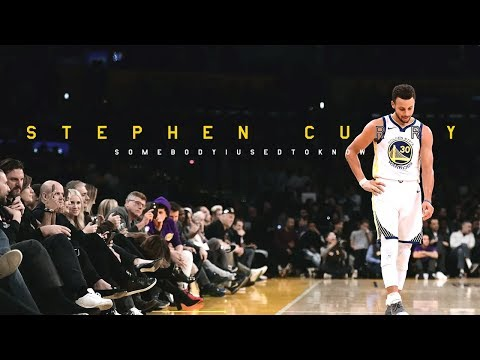 Stephen Curry 2017 Mix - Somebody I Used to Know HD