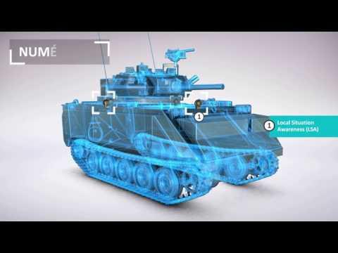 Solutions de modernisation des véhicules de combat