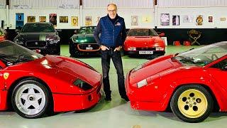 Ferrari F40 or Lamborghini Countach? Talking car design with legendary designer, Frank Stephenson