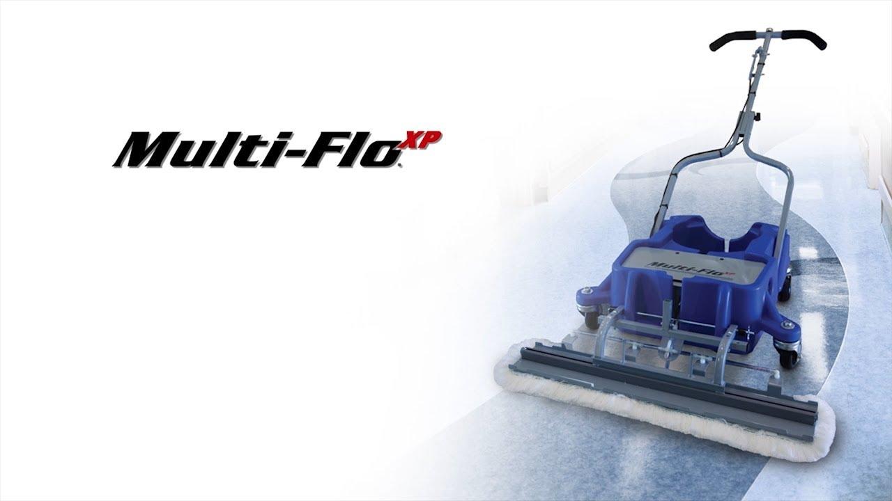 Multi Flo 174 Xp By Hillyard Youtube