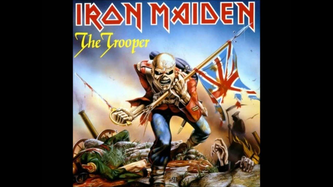 Iron Maiden The Trooper Instrumental Youtube
