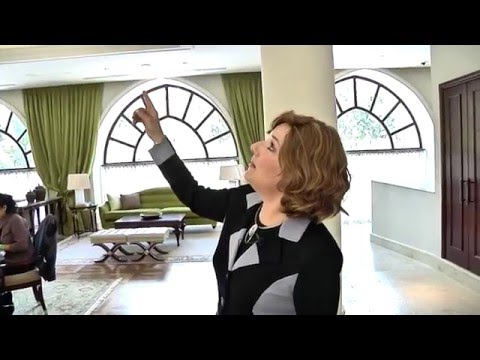Waldorf Astoria Jerusalem   tour by Mrs Esther Reichman