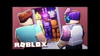 The Pals Roblox Adventures   FIVE NIGHTS AT FREDDY'S ELEVATOR IN ROBLOX! Horror Elevator 2
