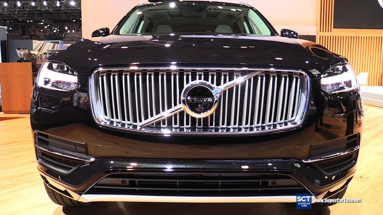 2016 Volvo Xc90 T6 Exterior And Interior Walkaround New York Auto Show