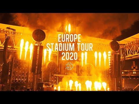 Die Antwoord Tour 2020 Rammstein Europe Stadium Tour 2020   YouTube