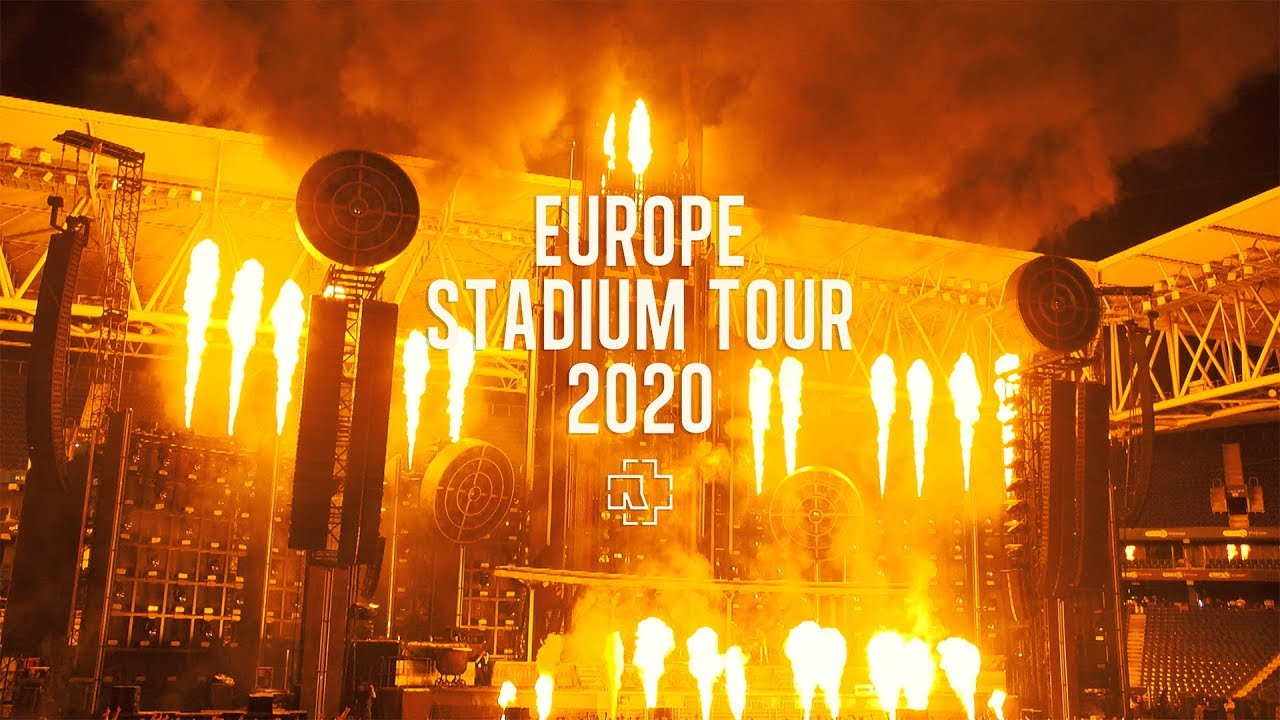 Trailer Park Boys Tour 2020 Rammstein Europe Stadium Tour 2020   YouTube
