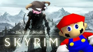 If Mario Was In... SKYRIM