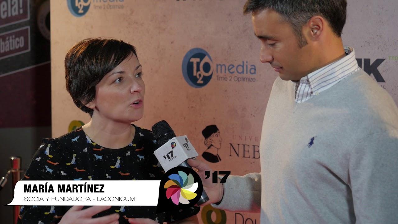 Festival Inspirational 2017: Entrevista a  María Martínez y Anabel Vazquez, Laconomicum