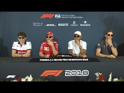 2018 Monaco Grand Prix: Press Conference Highlights