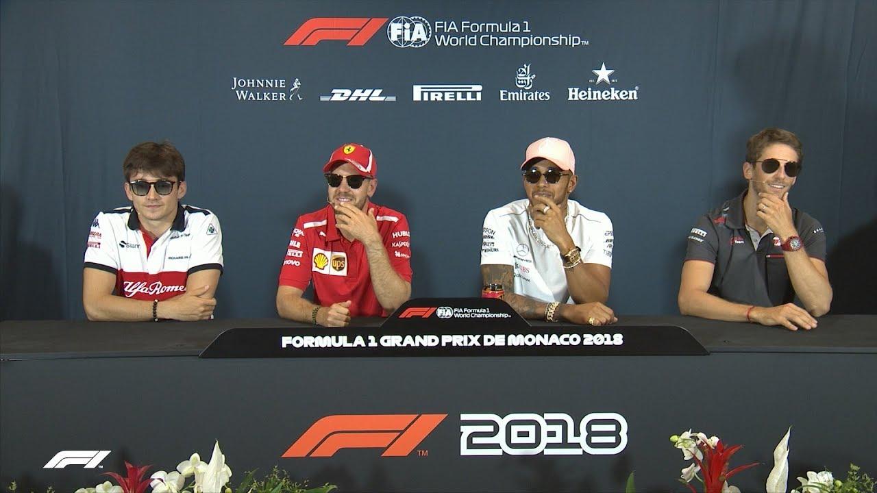 2018 Monaco Grand Prix: Press Conference Highlights