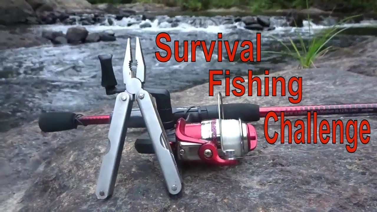 Survival Fishing Challenge No Lures Bait Remote Northern Forest