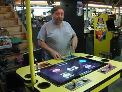 #97 Namco PACMAN BATTLE ROYALE 4 Player LCD Flatscreen Arcade Game! TNT Amusements