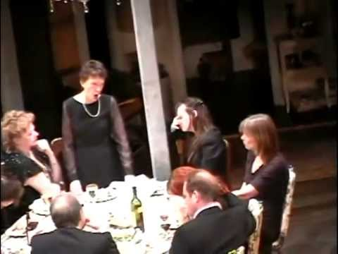 August: Osage County, Act 2 Dinner Scene