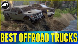 BEST OFFROAD TRUCKS!!! - Spin Tires (Dually Dodge 5500 & Ford Raptor)