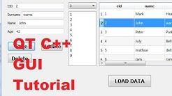 Using qlistwidget within qlineedit item in pyqt5 - Free