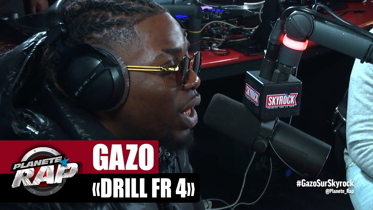 "Download Gazo ""Drill FR 4"" #PlanèteRap"