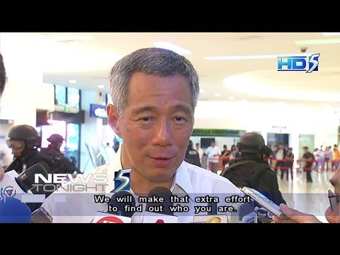 "PM Lee to hacker: ""We will make that extra effort to find out who you are"" - 06Nov2013"