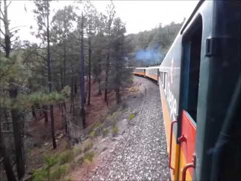 A Train RIde Through the Copper Canyons - Chihuahua to Divisadero