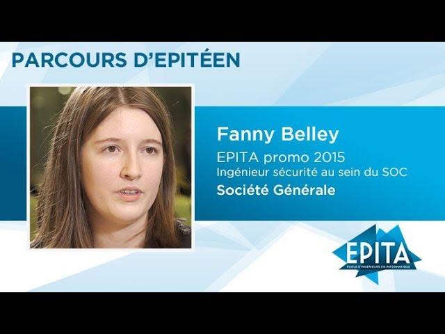 Parcours d'Epitéen - Fanny Belley (promo 2015) - Société Générale