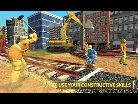 Indian Rail Builder: Train Construction Games Android Gameplay
