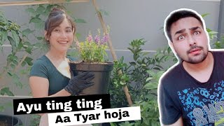 Ayu ting ting lagu india - hindi song AA TYAR HOJA  | AYU TING TING INSTAGRAM VIDEO CLIP REACTION