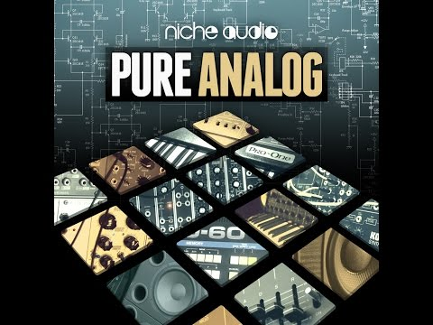 Pure Analog Maschine and Ableton Live Kits + Groove Creation Demo