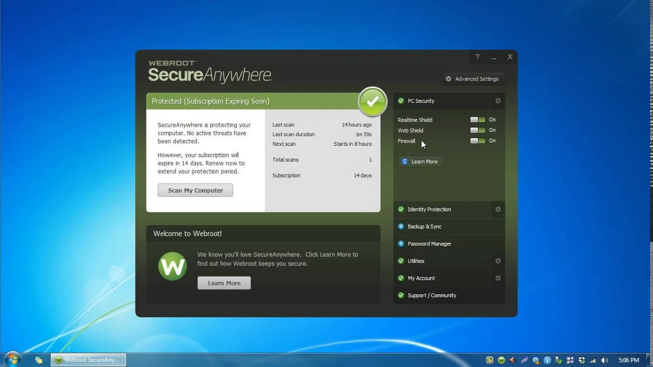 Free trial webroot secureanywhere complete