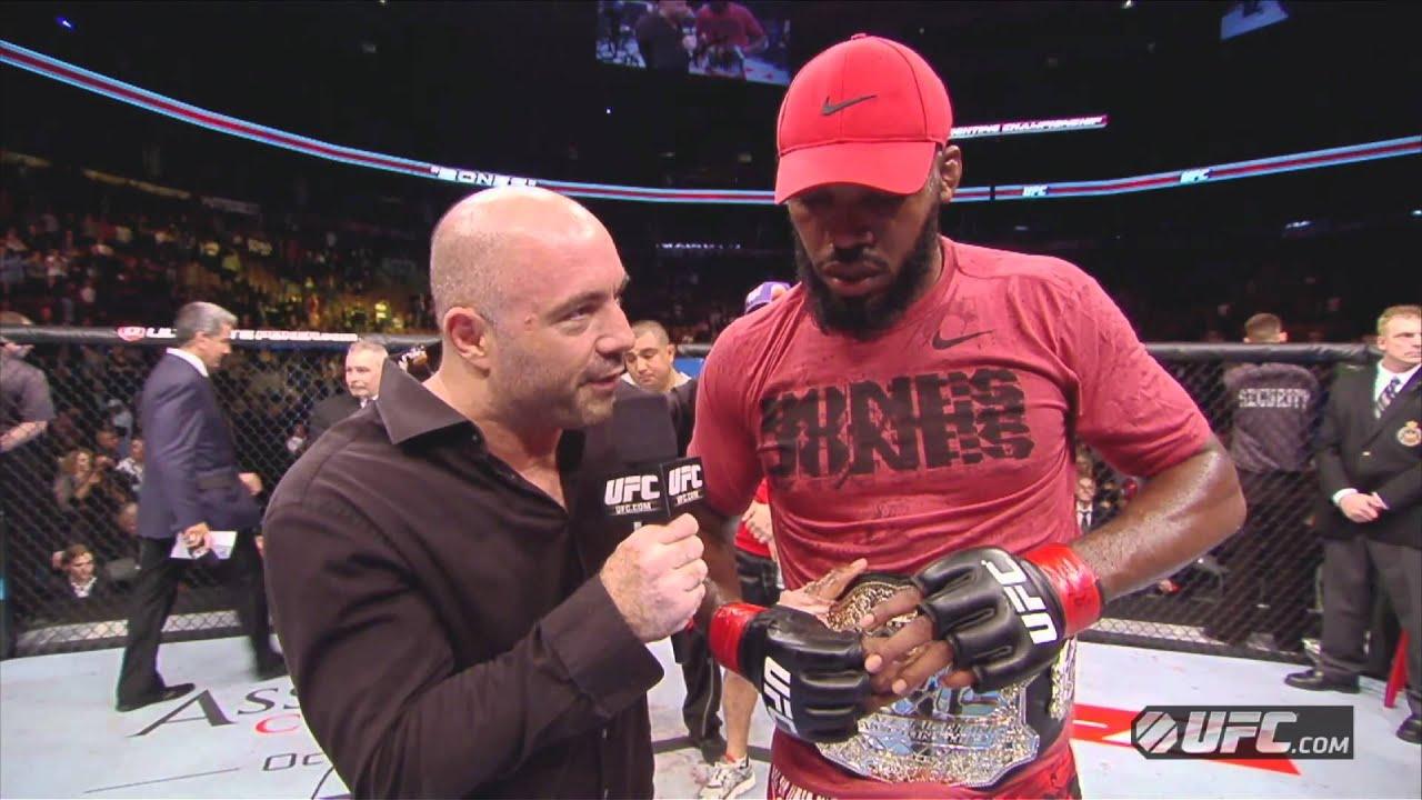 UFC 152: Jon Jones Octagon Interview - YouTube