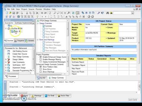 xilinx software free  for vhdl operators