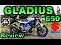 Prueba GLADIUS 650 SUZUKI |Review en Español con Blitz Rider