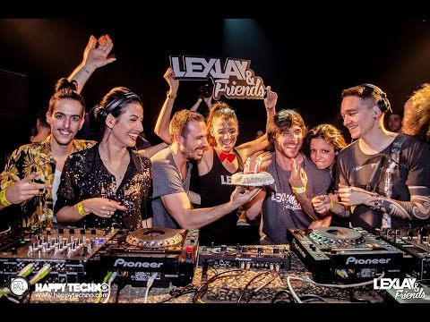 Lucas Freire & Dot Chandler @ Happy Techno - City Hall (Barcelona / Spain) - 28.02.2015