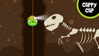 Custom Angry Birds and Bad Piggies Animation: The Underground