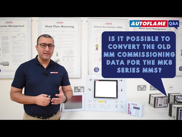 Q&A | Is it possible to convert the old MM commissioning data for the Mk8 Series MMs?