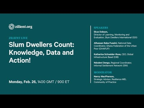 Slum Dwellers Count: Knowledge, Data and Action!