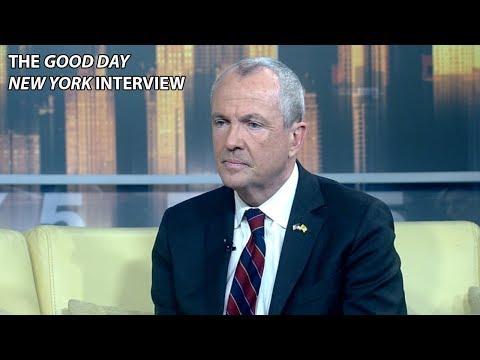 NJ Gov.-Elect Phil Murphy on Taxes, Marijuana, Economy [INTERVIEW]