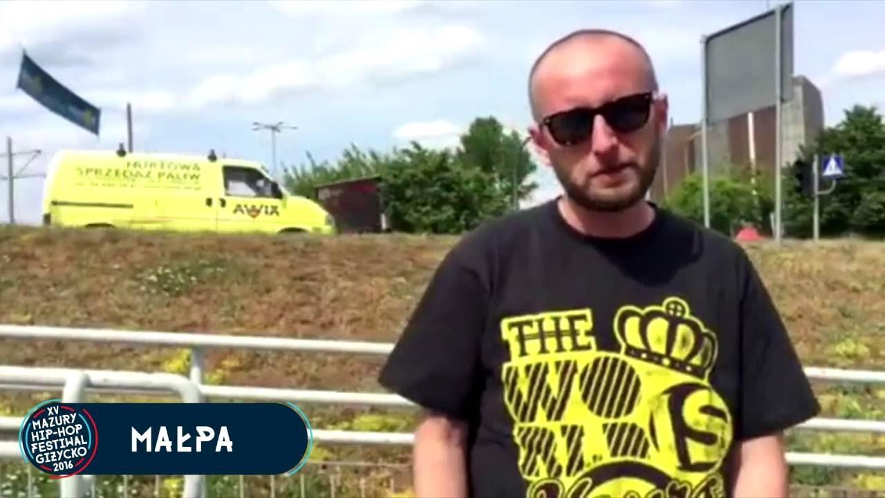 Małpa zaprasza na XV edycję Mazury Hip-Hop Festiwal Giżycko
