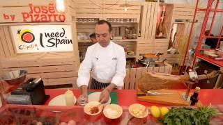 Hay Festival 2013 - José Pizarro Makes Prawns With Garlic & Chili With Spanish Ham