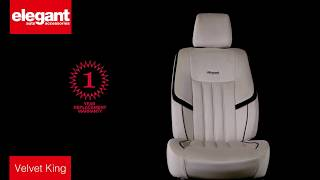 Velvet King Car Seat Covers | Designer Car Seat Covers | Fabric Seat Cover