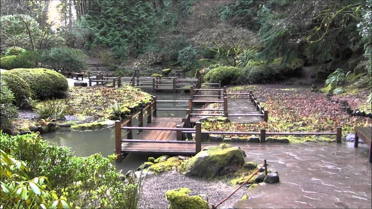 Japanese Garden Portland Oregon Menglo87 Youtube