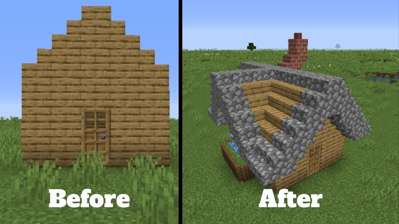 How To Improve Your Minecraft House U0026 39 S Roof