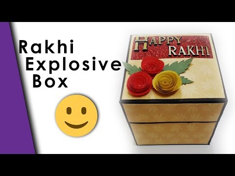 Rakhi Explosion Box | Customized Explosion Box | Best Rakhi Gift