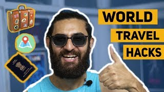 Best Tips for Traveling the World! | International TRAVEL Hacks & World Travel Guide! (HINDI)