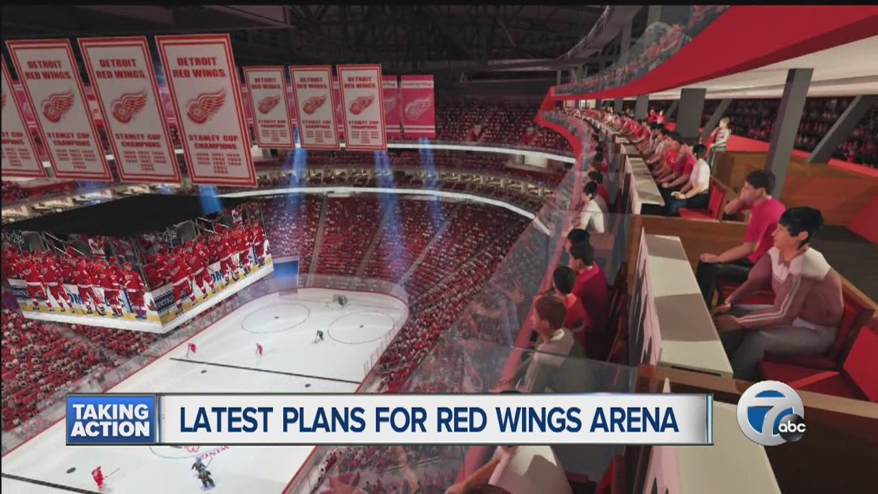 Little Caesars Arena Seating Chart Wwe Image Mag