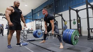 Deadlifting with LARRY WHEELS